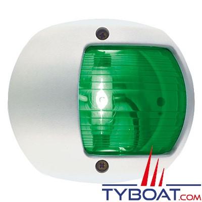 PERKO - 0170 SERIES - Feu de navigation - Tribord vert - Blanc - Montage latéral