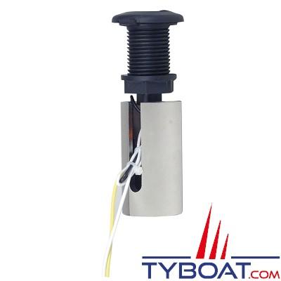 PERKO - 1049P00DPB - Embase pour feu de mouillage démontable - Ø 57 mm