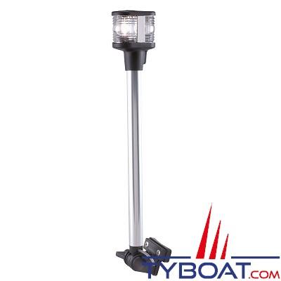 PERKO - 1181- Feu de mouillage et poupe - 360° et 135° - Blanc - 320 mm