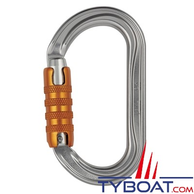 Petzl - Mousqueton à verrouillage à vis OK Screw-Lock