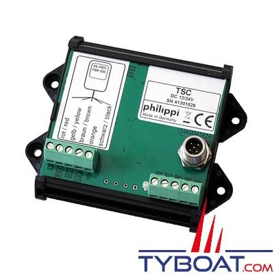 PHILIPPI - Interface de commande des relais FBR 500-12 ou 500-24 pour réseau PBUS.