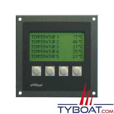 PHILIPPI - Moniteur de température TPM 5 pôur réseau PBUS.
