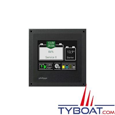 Philippi - moniteur numérique combiné de batterie et de réservoir BTM
