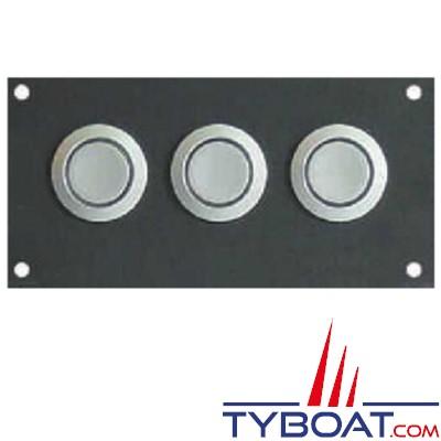 PHILIPPI - Panneau de contrôle - 3 Boutons poussoirs pour EM-Box