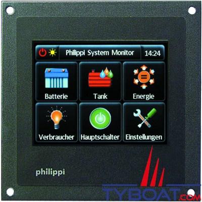 PHILIPPI - Système de monitorage pour indication et commande sur réseau PBUS - PSM2