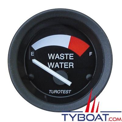 TUROTEST - Récepteur-indicateur eaux usées UTV 52