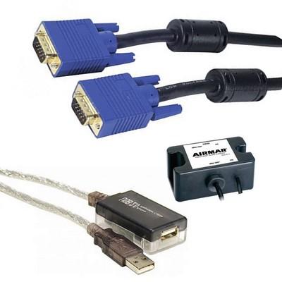 Câbles et adaptateurs informatiques