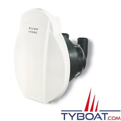 Plastimo - 1038C Pompe de cale à membrane - poignée intégrée sans By-pass pour tuyau Ø 38mm