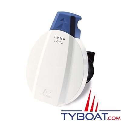 Plastimo - 925 Pompe de cale à membrane - poignée télescopique avec By-pass pour tuyau Ø 25mm