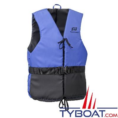 Plastimo - Aide à la flottabilité Olympia Bleu-Noir marine dériveur et multi-sports 50 Newtons taille XL + 90 Kg