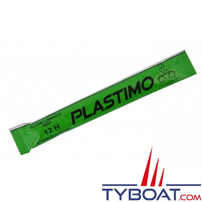 PLASTIMO - Bâtons lumineux - vert - 12h - 1 Unité