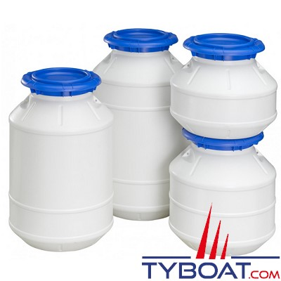 Plastimo - Bidons étanches - 6 litres - hauteur 20 cm