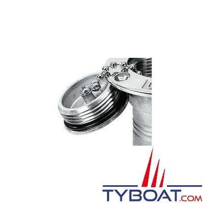 PLASTIMO - bouchon de nable inox Ø51mm
