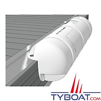 PLASTIMO - Bumper - Défense de ponton 3/4 - Renforcé - Blanc - Ø 25 cm x longueur 90 cm