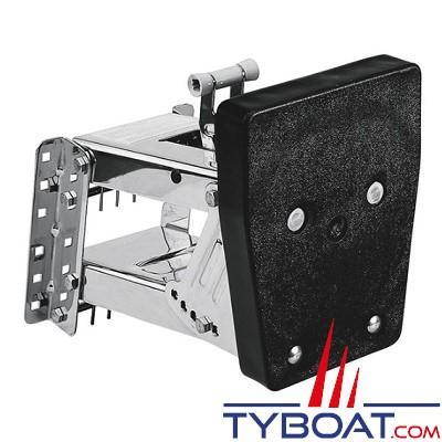 PLASTIMO - Chaise moteur - Châssis et ressorts Inox - Tableau plastique - Pour 20 CV - 50 kg max