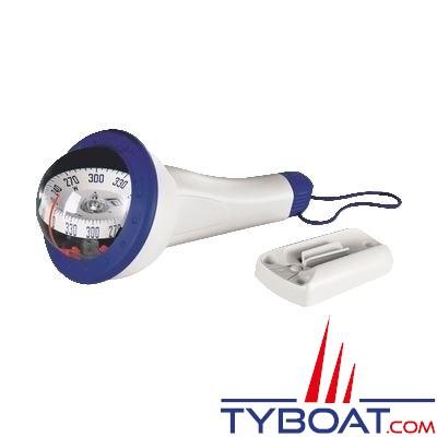 Plastimo - Compas Iris 100 - Bleu avec éclairage