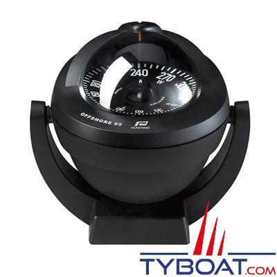 Plastimo - Compas Offshore 95 sur étrier - noir rose conique noire