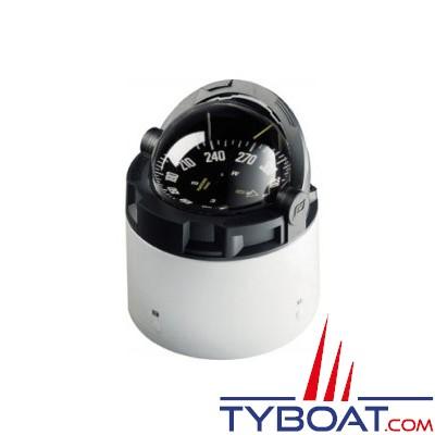Plastimo - Compas Olympic 135 sur fût blanc - noir rose noire