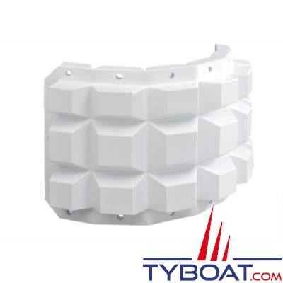 PLASTIMO - Multifender - Défense souple - PVC blanc