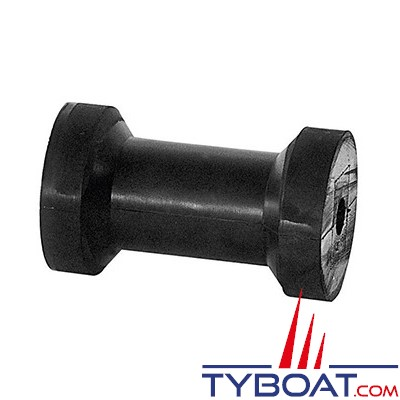 PLASTIMO - Diabolo caoutchouc pour remorque - 200 mm x Ø 86 mm max / Ø 60 mm mini