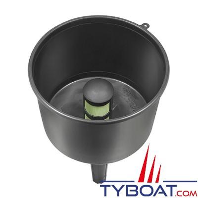 Plastimo - Entonnoir avec filtre séparateur - 19 litres/minute