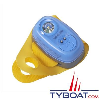 PLASTIMO - Feu flash compact W3 avec patte d'accrochage sur gilet