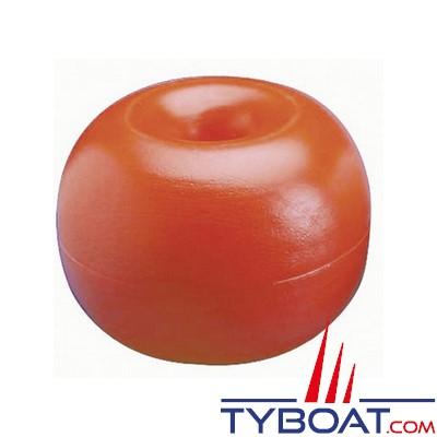Plastimo - Flotteur pour balisage - Orange - Ø 17 cm - Hauteur 14,5 cm - Lot de 5