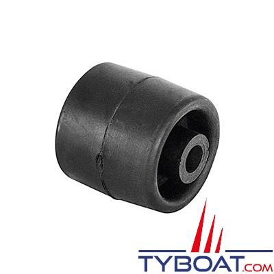PLASTIMO - Galet caoutchouc pour remorque - 74 mm x Ø 120 mm max