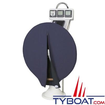 Plastimo - Housse de barre à roue - Dralon bleu roi - Ø 930 mm