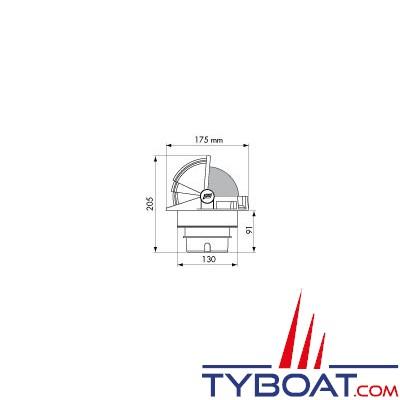 Plastimo - Kit d'encastrement pour Compas Olympic® 135