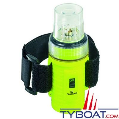 PLASTIMO - Lampe flash à LEDs étanche 50 à 70 éclats/min