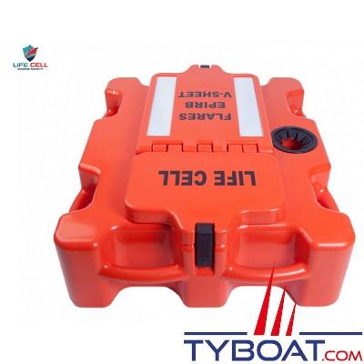 Plastimo - LIFECELL - Crewman - SOLAS - 11 litres + 5,2 litres  - 4 personnes