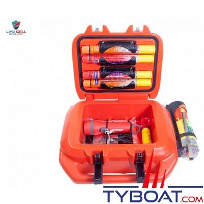 Plastimo - LIFECELL - Trawlerman - SOLAS - 11 litres - 3 personnes