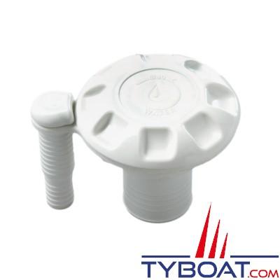 Plastimo - Nâble eaux nylon chargé fibre de verre - avec évent - blanc