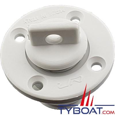Plastimo - Nable polyamide ronde avec trou - Blanche