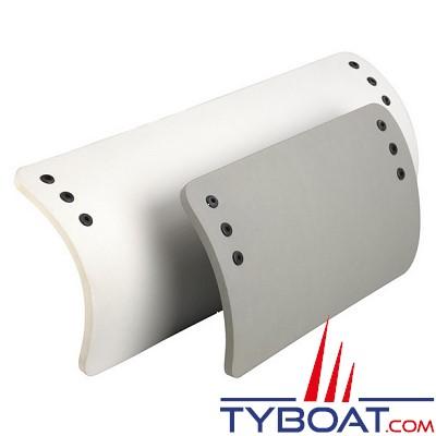 Plastimo - Pare-battage pour annexe - Mousse polyéthylène - 350 x 800 mm - Blanc