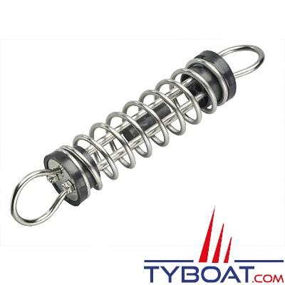Plastimo - Ressort d'amarrage silencieux - Inox - Pour bateau 12000 Kg / 14 m.