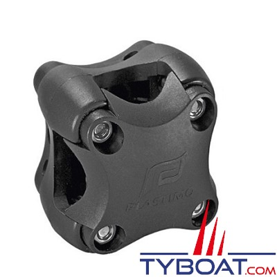 Plastimo - Support de fixation pour compas Offshore 75 mini-fût - Offshore 75 et Offshore 95 sur étrier - noir