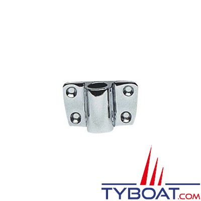 Plastimo - Support latéral pour dames de nage Ø 60 mm - Tige Ø13,5 mm - Laiton chromé