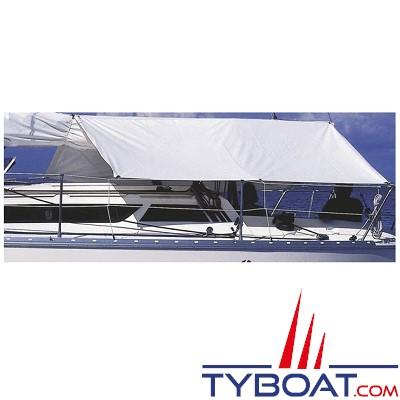 PLASTIMO - Taud de soleil et pluie - 100 % polyester - Dralon - Bleu royal - 2.60 mètres