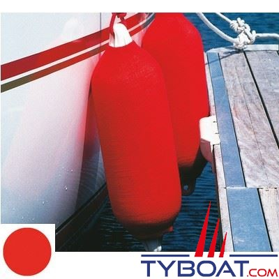PLASTIMO - Chaussette pare-battage long - F3 - Ø 23 x L 76 cm - Rouge