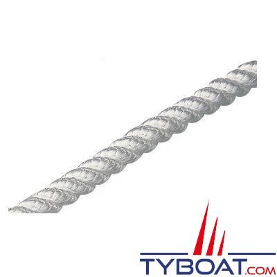 Plastimo - Cordage polyamide toronné blanc - Ø 8 mm - Longueur 30 mètres