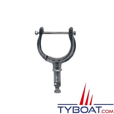 Dame de nage aluminium Ø62 mm - tige Ø17 mm avec verrouillage