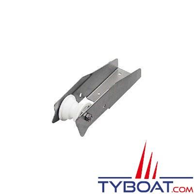 Davier fixe inox dimensions 500 x 80 mm pour ancre 20 Kg maxi - chaine Ø 8-10mm