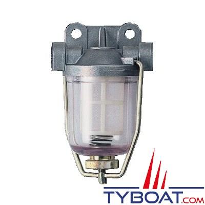 DELPHI - Filtre séparateurs - < 300 CV / < 3500 cm3 - 50 L/h - 400 µ Diesel ou essence - Inboard ou HB