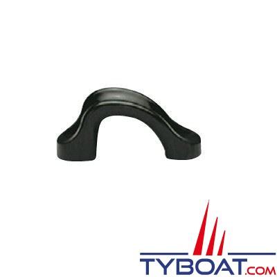 Filoirs d'écoute polyamide noir 65x28 mm Ø cordage max 18 mm (sachet de 5 unités)