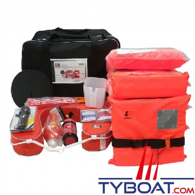 For Water - Sac d'armement côtier < 6 milles (6 personnes)