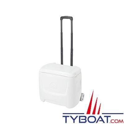 IGLOO - Glacière-siège - portable - sur roulettes - IGLOO50 - 47 litres utiles