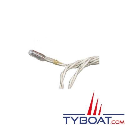 Lampe à LED 12/24V pour compas PLASTIMO depuis 2016 (Offshore 115 et Olympic 115 depuis 2014) - fil noir