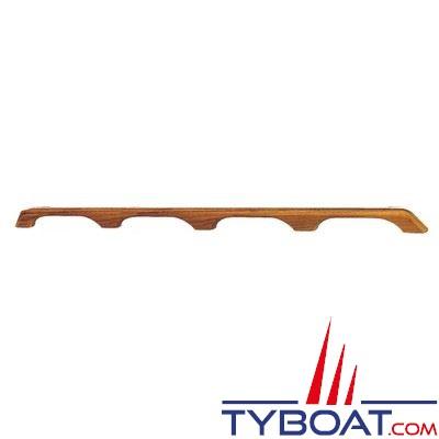 Main courante Teck longueur 110 cm - 4 ponts